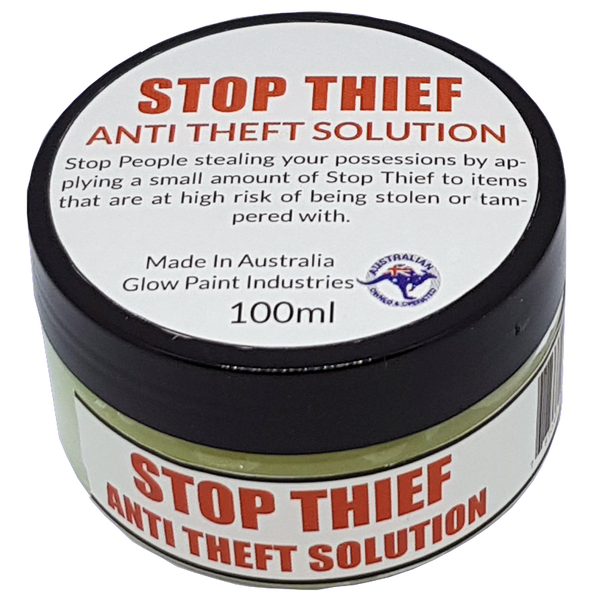 Stop Thief Anti Theft Solution Jar