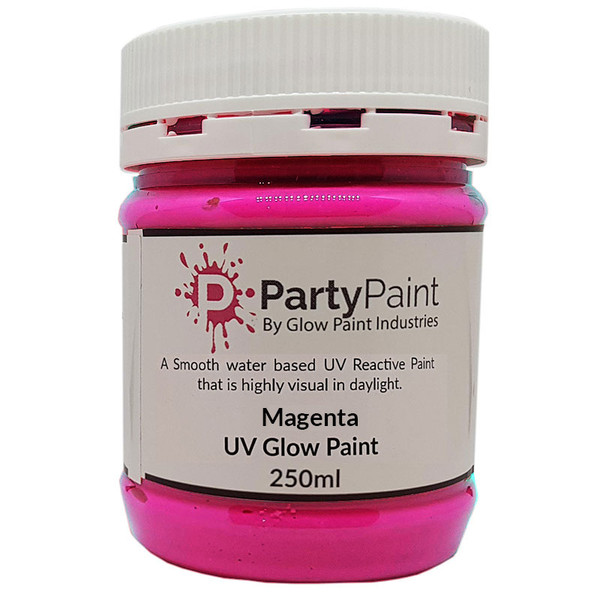 Majestic Magenta UV Glow Paint