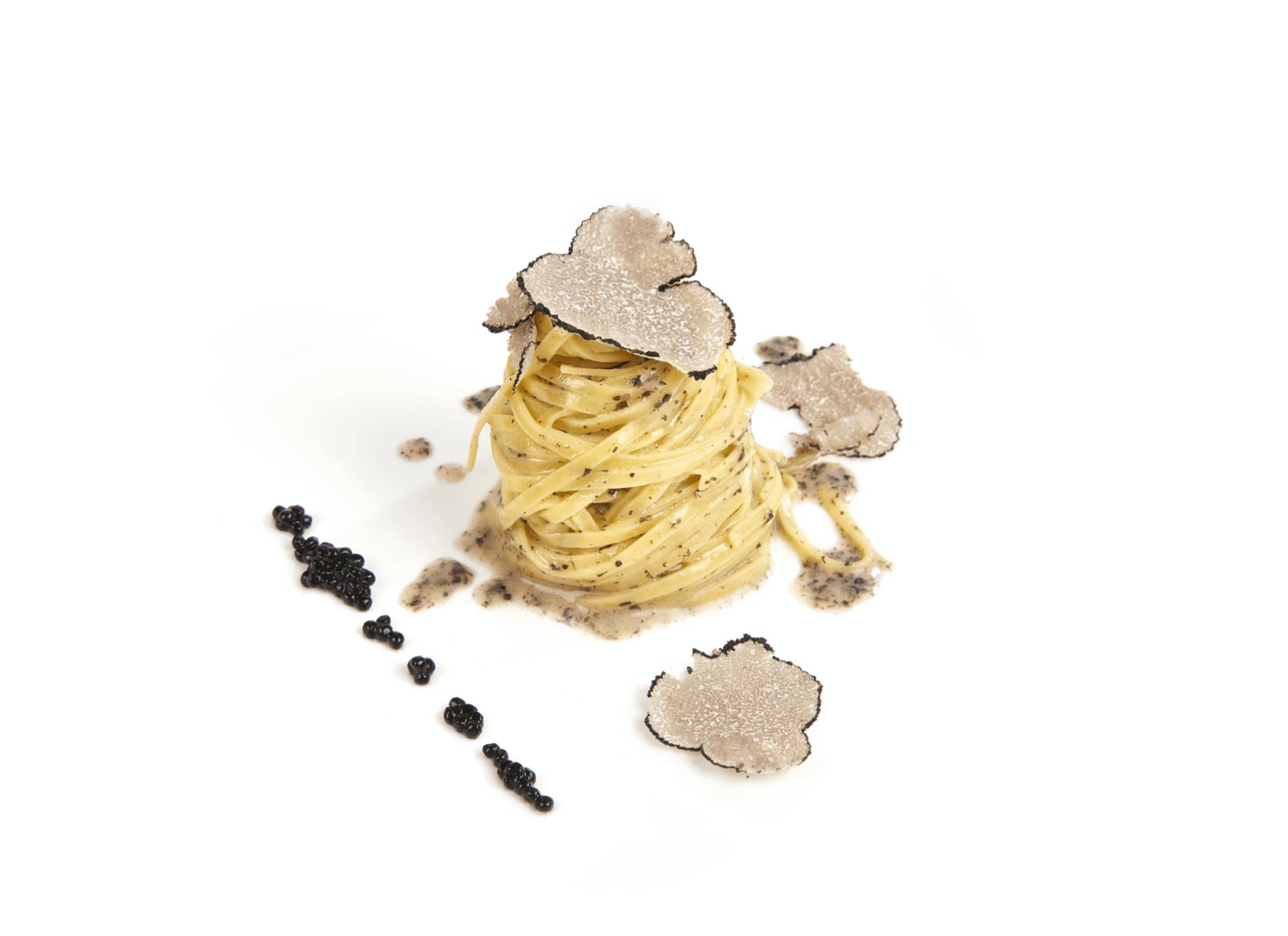 Campofilone black truffle tagliolono and black truffle sauce recipe -Le Gourmet Central