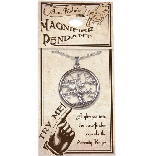 AngelStar Serenity Prayer Tree of Life Pendant Necklace 13866