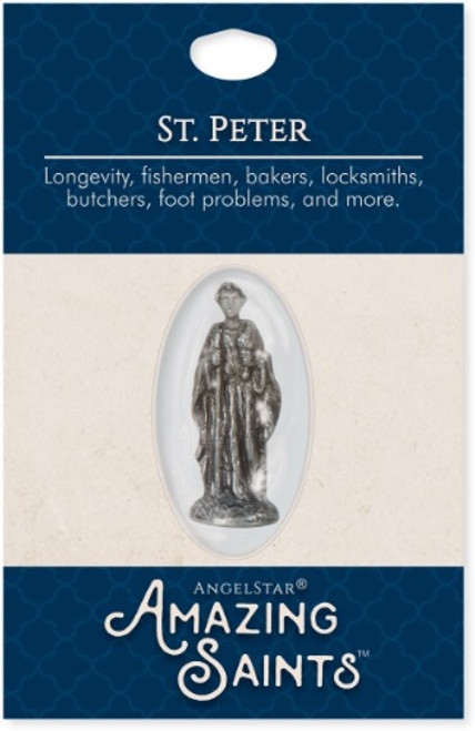 AngelStar Amazing Saints St Peter Pocket Purse Shield 2336