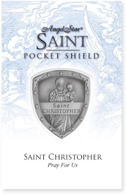 AngelStar Saint Christopher Pocket Purse Shield 71052