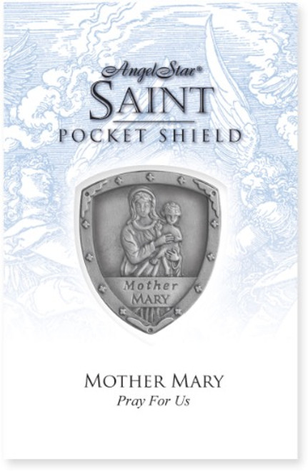 AngelStar Mother Mary Pocket Purse Shield 71053