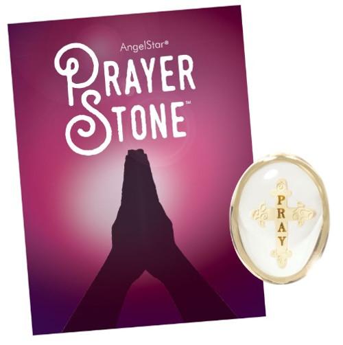 AngelStar Prayer Pray Elegant Cross Pocket Purse Stone 8677 display