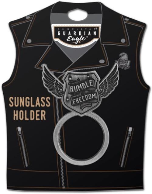 AngelStar Rumble Freedom Biker Motorcycle Sunglass Holder Pin 17523