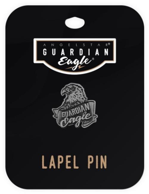 AngelStar Guardian Eagle Biker Motorcycle Lapel Pin 17511