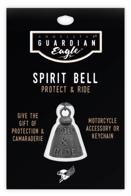 AngelStar Guardian Eagle Protect and Ride Biker Motorcycle Spirit Bell 17451