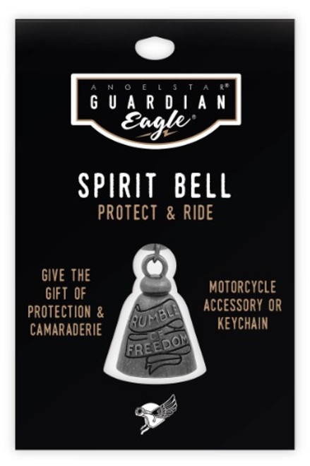 AngelStar Guardian Eagle Rumble of Freedom Biker Motorcycle Spirit Bell 17452