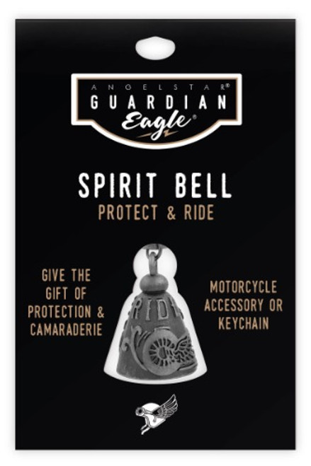 AngelStar Guardian Eagle Ride Free Biker Motorcycle Spirit Bell 17453
