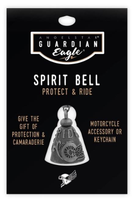 AngelStar Guardian Eagle Ride Free Biker Motorcycle Spirit Bell 17453
