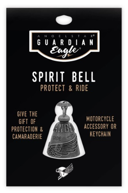 AngelStar Guardian Eagle Chopper Angel By Your Side Biker Motorcycle Spirit Bell 17454