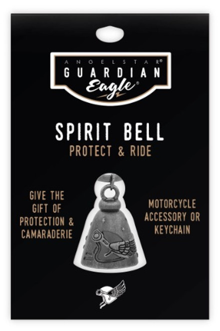 AngelStar Guardian Eagle Ride on Wings of Eagles Biker Motorcycle Spirit Bell 17456