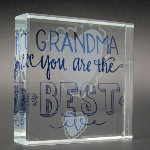 Rachel Anne Grandma You Are the Best Glass Plaque 11242