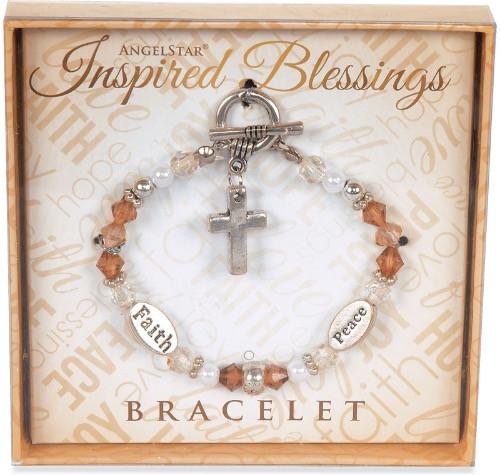 AngelStar Inspired Blessing Peace Faith Bracelet 19217