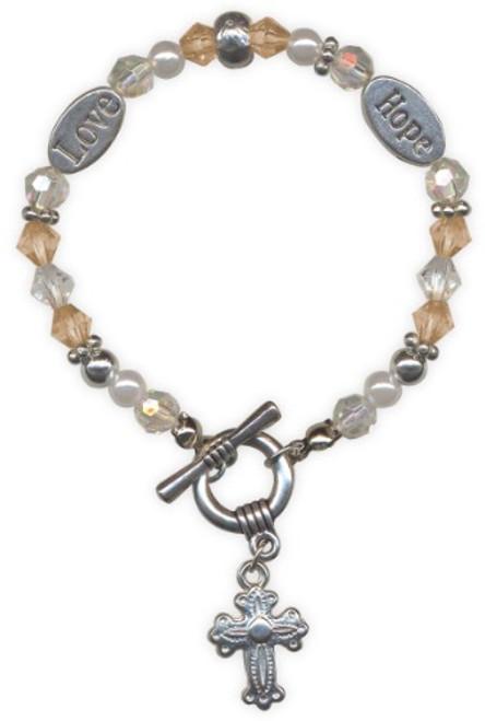 AngelStar Inspired Blessing Hope Love Bracelet 19217