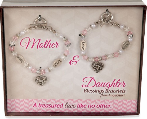 AngelStar Inspired Blessing Mother Daughter Treasured Love Bracelet 19242