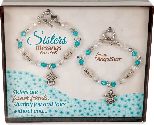 AngelStar Inspired Blessing Sisters Forever Friends Bracelet 19243