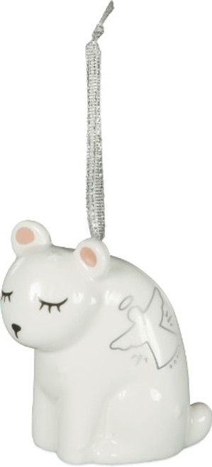 AngelStar Winter Wonderfull White Bear Spirit Totem Ornament 20422