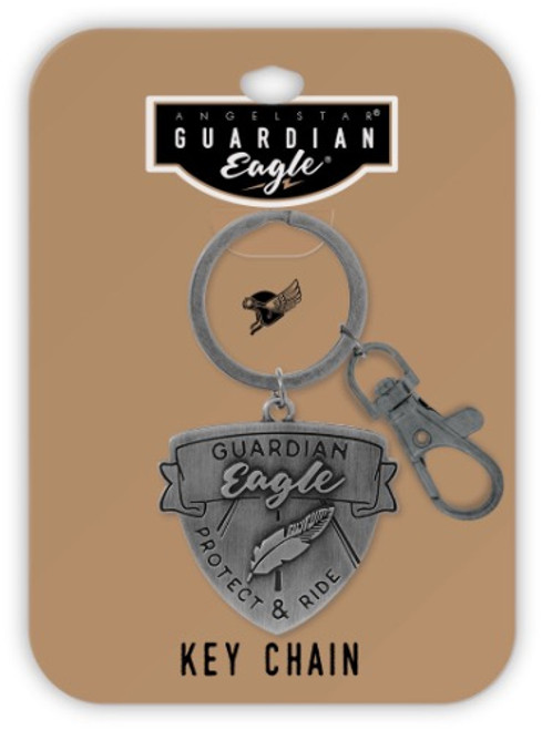 AngelStar Guardian Eagle Protect Ride Key Chain 17432