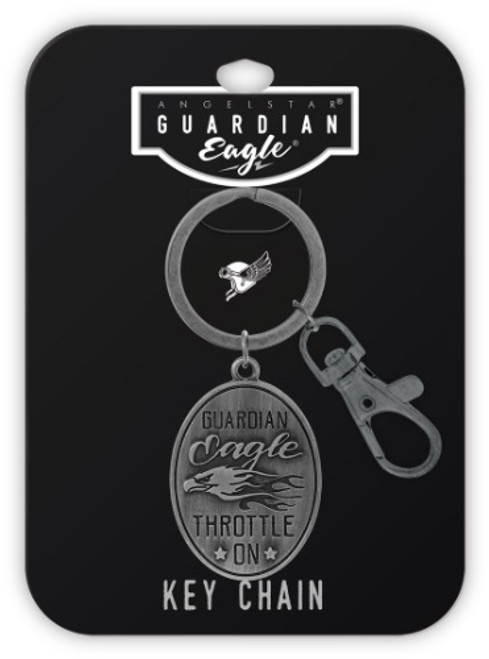 AngelStar Guardian Eagle Throttle On Key Chain 17435