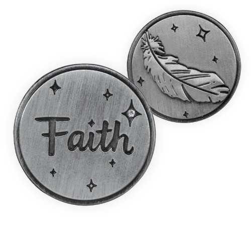 AngelStar Guardian Angel Faith Token Coin 15355