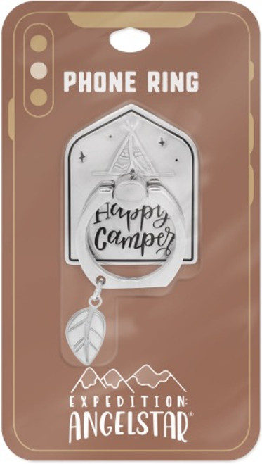 AngelStar Expedition Happy Camper Mobile Phone iPhone Ring Stand 10963