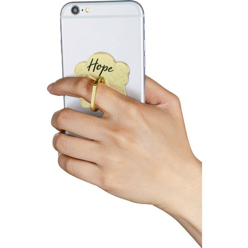 AngelStar Golden Inspirations Hope Mobile Phone iPhone Ring Stand 10811