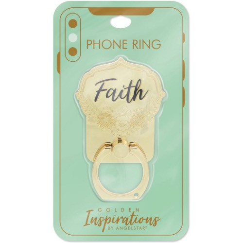 AngelStar Golden Inspirations Faith Mobile Phone iPhone Ring Stand 10812