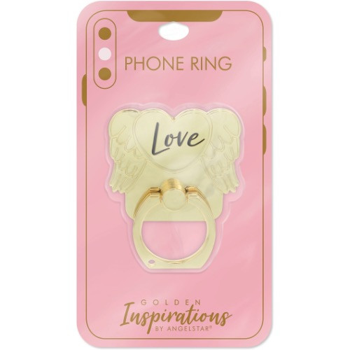 AngelStar Golden Inspirations Love Mobile Phone iPhone Ring Stand 10813