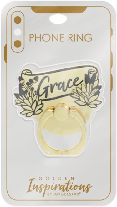 AngelStar Golden Inspirations Grace Mobile Phone iPhone Ring Stand 10815