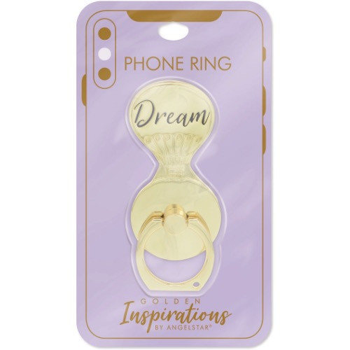 AngelStar Golden Inspirations Dream Mobile Phone iPhone Ring Stand 10816