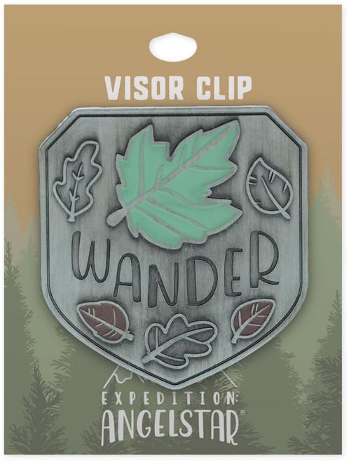 AngelStar Wander Beauty Nature Enamel Car Visor Clip 10973 tag