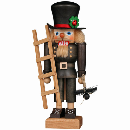 Christian Ulbricht Nutcracker Lucky Chimney Sweep 32-671 front