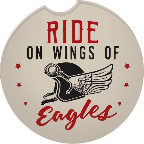 Guardian Eagle Auto Coaster - Ride On Wings of Eagles Biker Motorcycle 17411 coaster