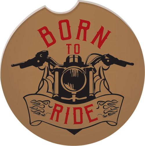 Guardian Eagle Auto Coaster Born to Ride Biker Motorcycle 17413 coaster