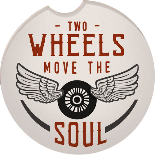 Guardian Eagle Auto Coaster Two Wheels Move the Soul Biker Motorcycle 17414 coaster