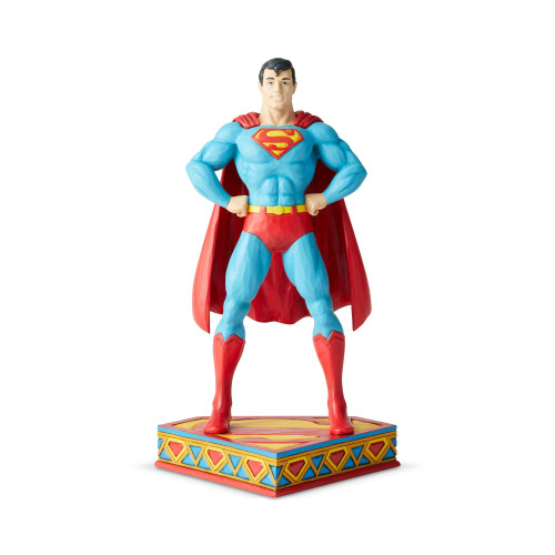 Jim Shore DC Comics Man of Steel Superman Silver Age Figure 6003021 front