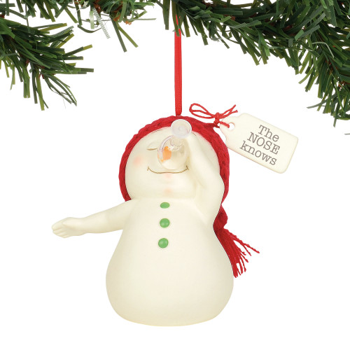 Department 56 Snowpinion The Nose Knows Wine Ornament 6003273