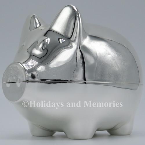 Caroline Collection Baby Pig Piggy Bank Engravable 19670 left