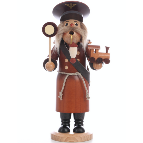 Christian Ulbricht Smoker Incense Burner Train Conductor Germany 35-263 front