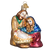 Holy Family Mary Joseph Baby Jesus Ornament Old World Christmas 10207 front