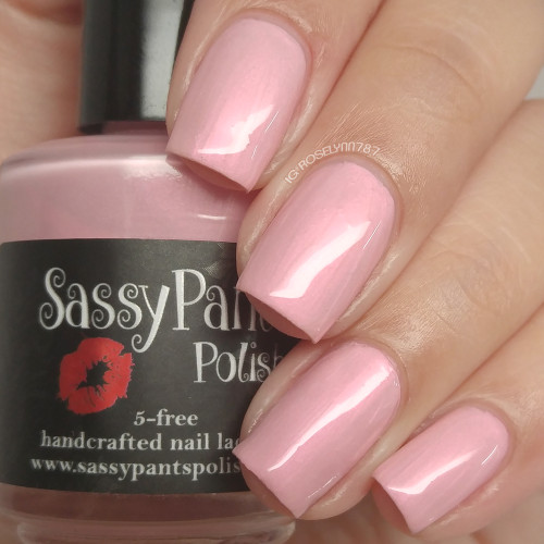 """""""First Kiss"""" Valentines '16 """"First Crush"""" Collection  Swatch by Manicured & Marvelous"""