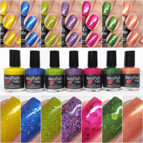 Entire Funny Fruit Collection  By Manicured & Marvelous