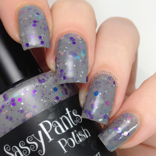 """Mountain Stream Daydream""   Swatch by CDBNails"