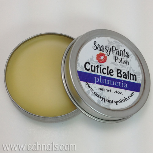 Cuticle Balm, Plumeria Scent  Photo by CDBNails