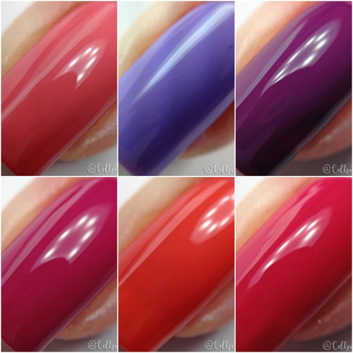 Sealed With a Kiss Collection  Swatch by CDB Nails