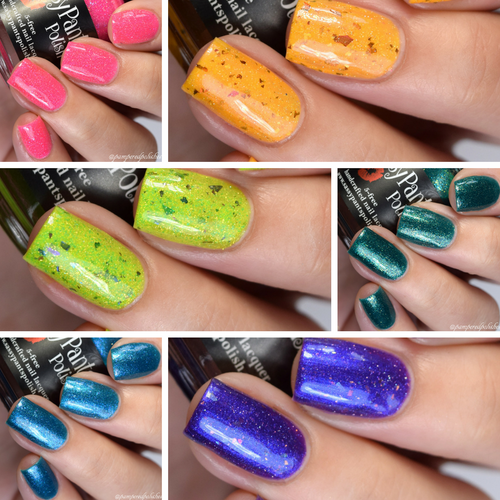 "Entire ""Summer Paradise"" Polish Collection"