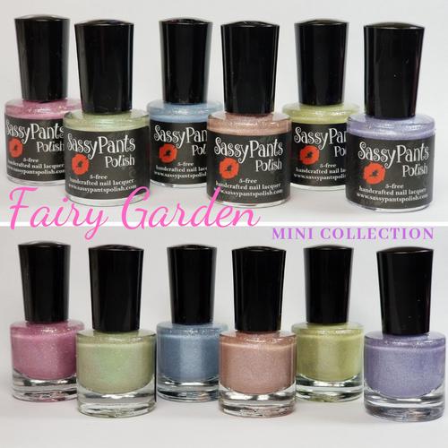 """Entire Mini """"Fairy Garden"""" Spring Collection"""