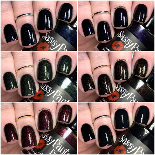With Glossy Top Coat