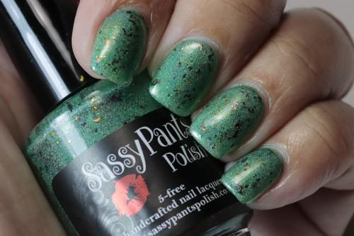 Green Polish Forever Custom: Rust & Lichen